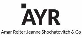 AYR – Amar Reiter Jeanne Shochatovitch & Co.