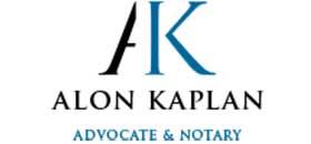 Alon Kaplan, Advocate & Notary