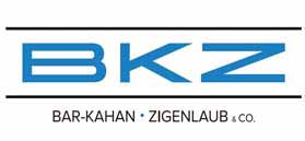 Logo Bar-Kahan, Zigenlaub & Co.
