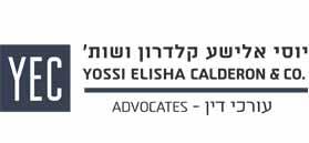Yossi Elisha Calderon & Co., Advocates