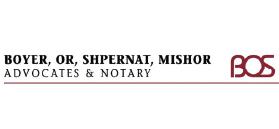 Boyer, Or, Shpernat, Mishor & Co. – Advocates & Notary