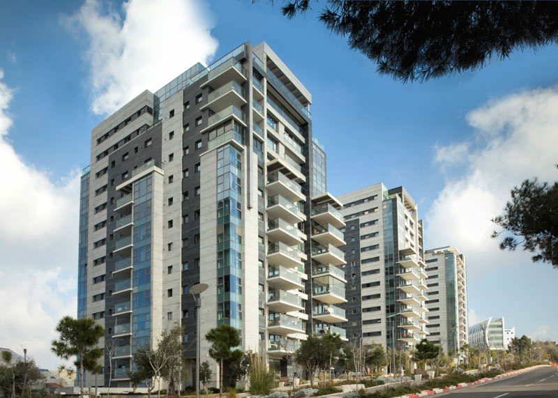"Gordon Architects and Urban Planners Ltd. - ""Trio"" Towers, Haifa"