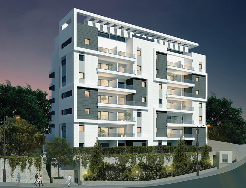 Greenberg Shneor, Real Estate Initiation Ltd. - 1st-3rd Zalman Shneur St., Haifa Project