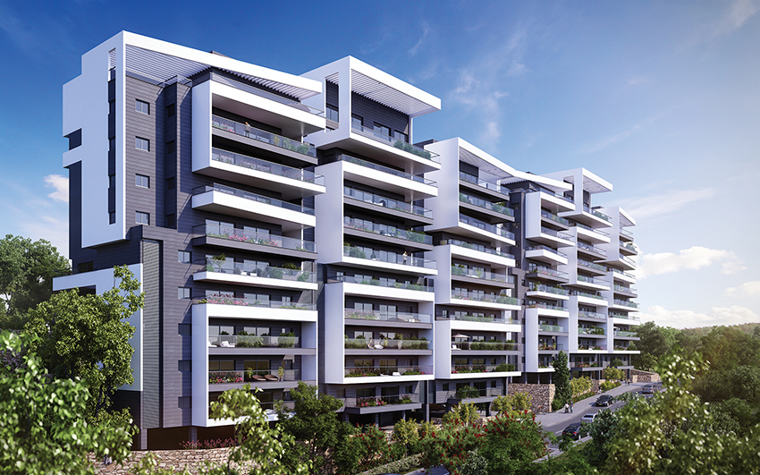 Greenberg Shneor, Real Estate Initiation Ltd. - 48th-58th Khaviva Reik St., Haifa Project