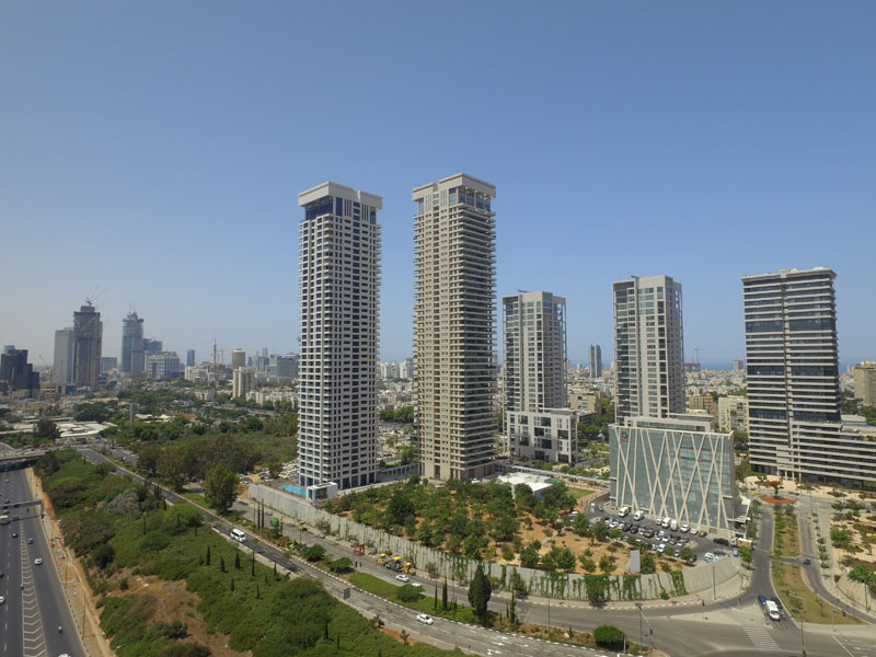 Israel Canada Ltd. - W Towers, Tel Aviv | For illustrative purposes only