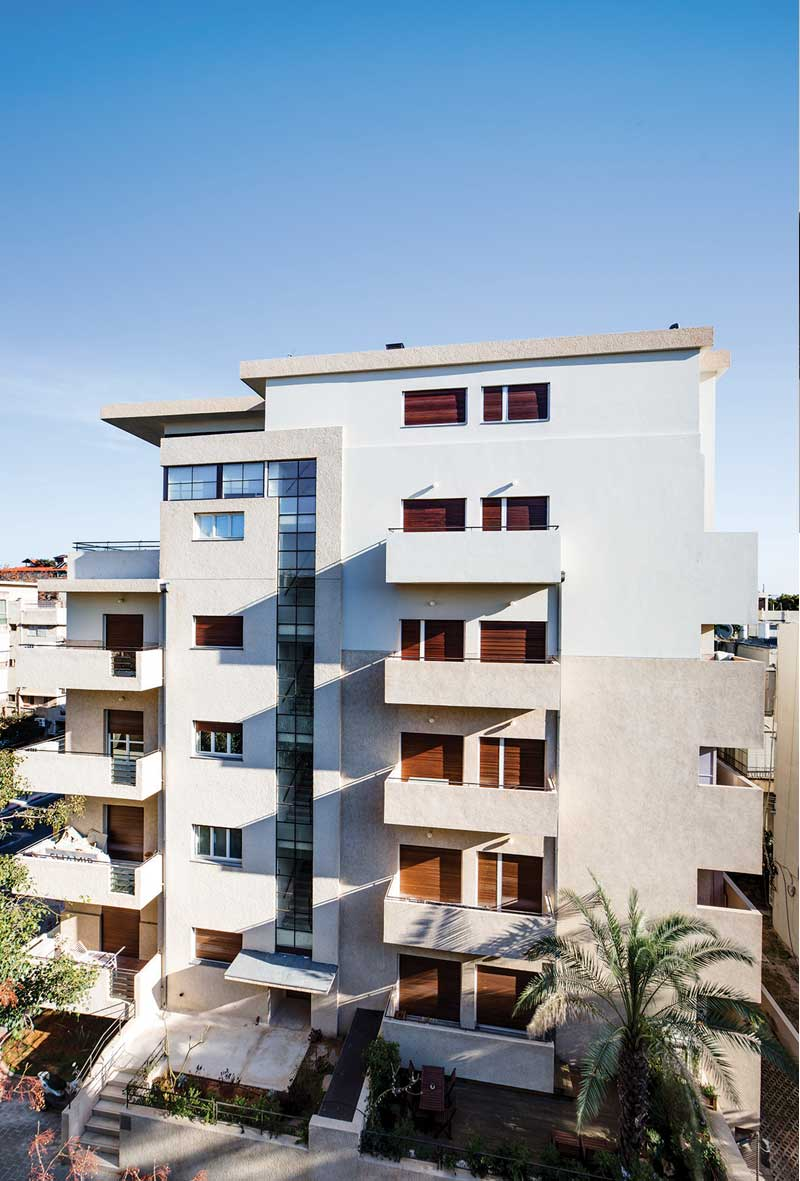Eliakim Architects - Preservation of residential complex, Tel Aviv