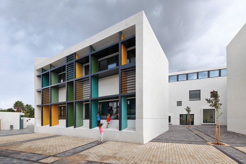 Auerbach Halevy Architects & Engineers Ltd. - Kochav Hatzafon Elementary School, Tel Aviv
