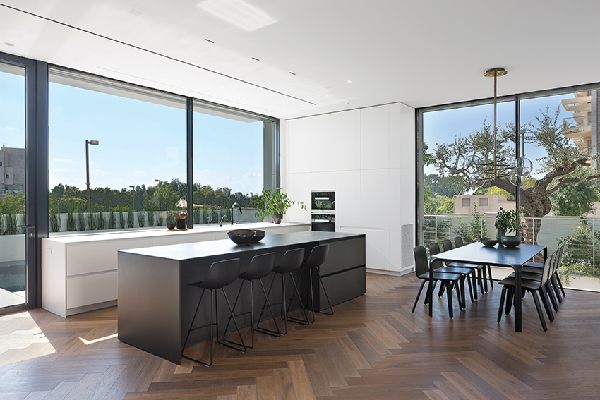 Semel Kitchens - Design: Shachar Rozenfeld Architects