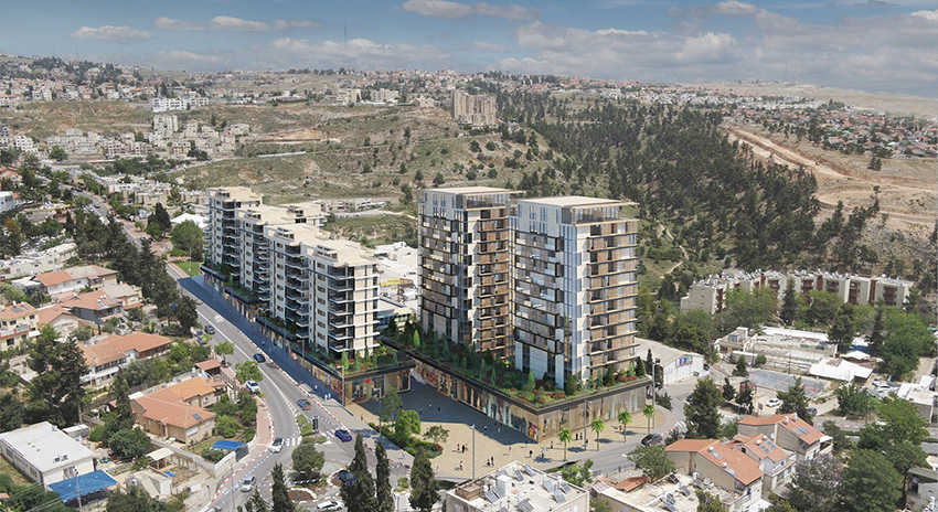 Eran Mebel Architecture & Urban Planning Ltd. - Strauss Complex, Zefat