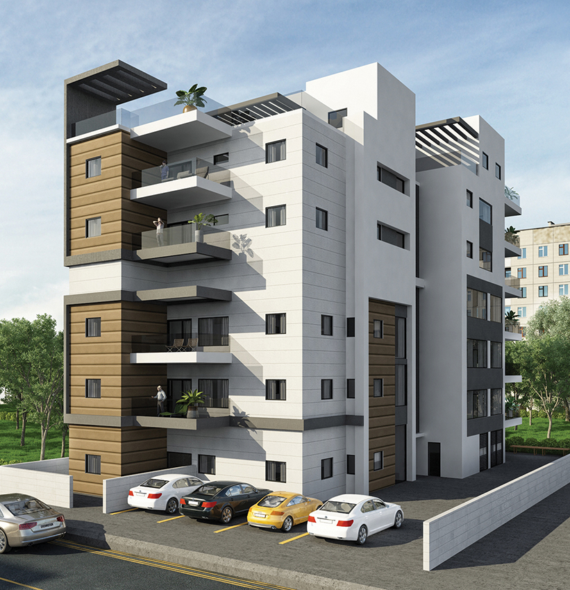 Greenberg Shneor, Real Estate Initiation Ltd. - 34th Aharon St., Kiryat Motskin Project