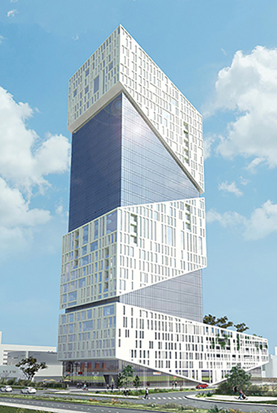 Barre-Levie Dayan Architects & Urban Planners - S2 Shlomo Sixt Tower