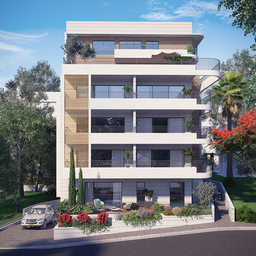 Greenberg Shneor, Real Estate Initiation Ltd. - 70th HaYam Rd., Haifa Project