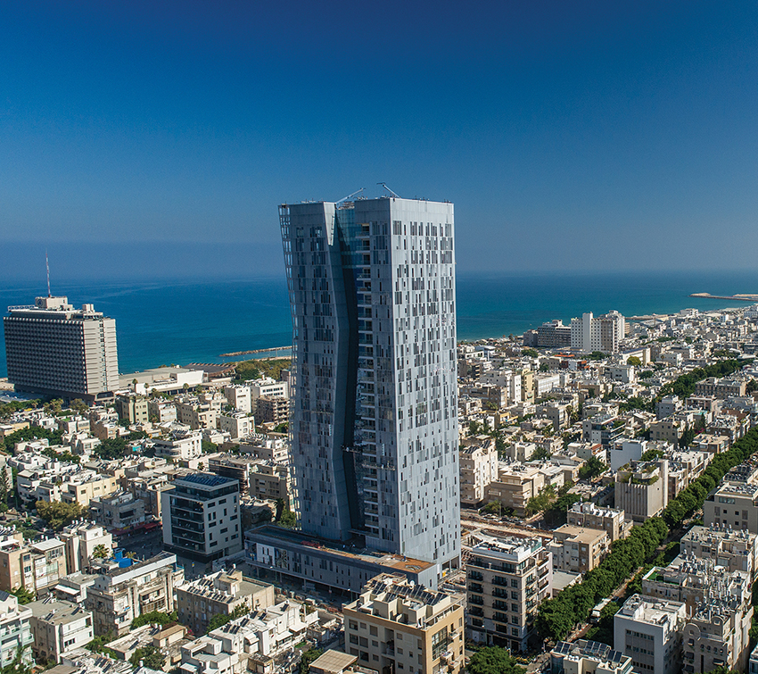 Ashtrom Group - Arlozorov Tower,  Tel Aviv
