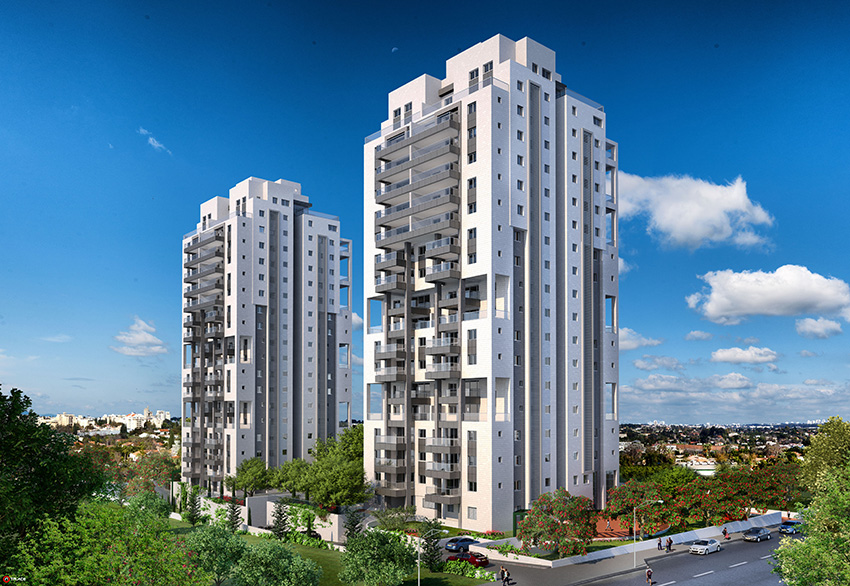 Expo Fund Ltd. - Hadar Tower, Hod Hasharon